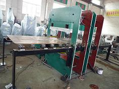 Rubber Moulding Press(With Double Slide Out System)