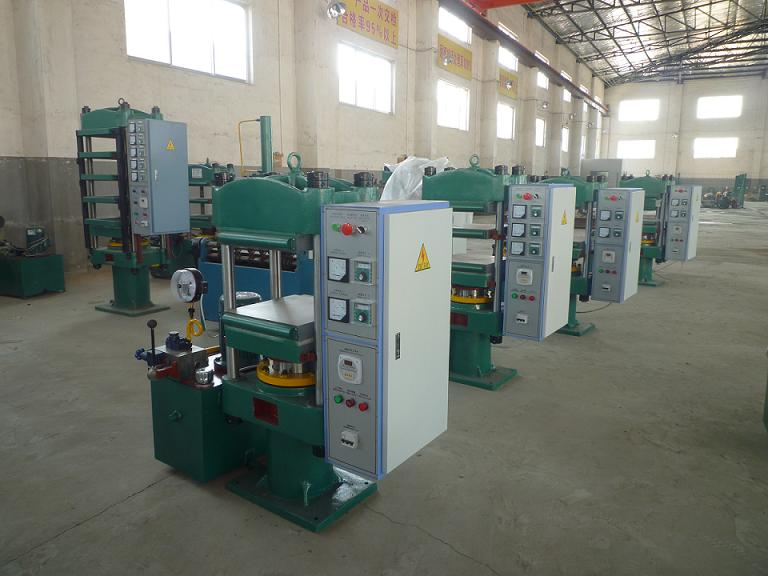 Silicon Rubber Molding Press
