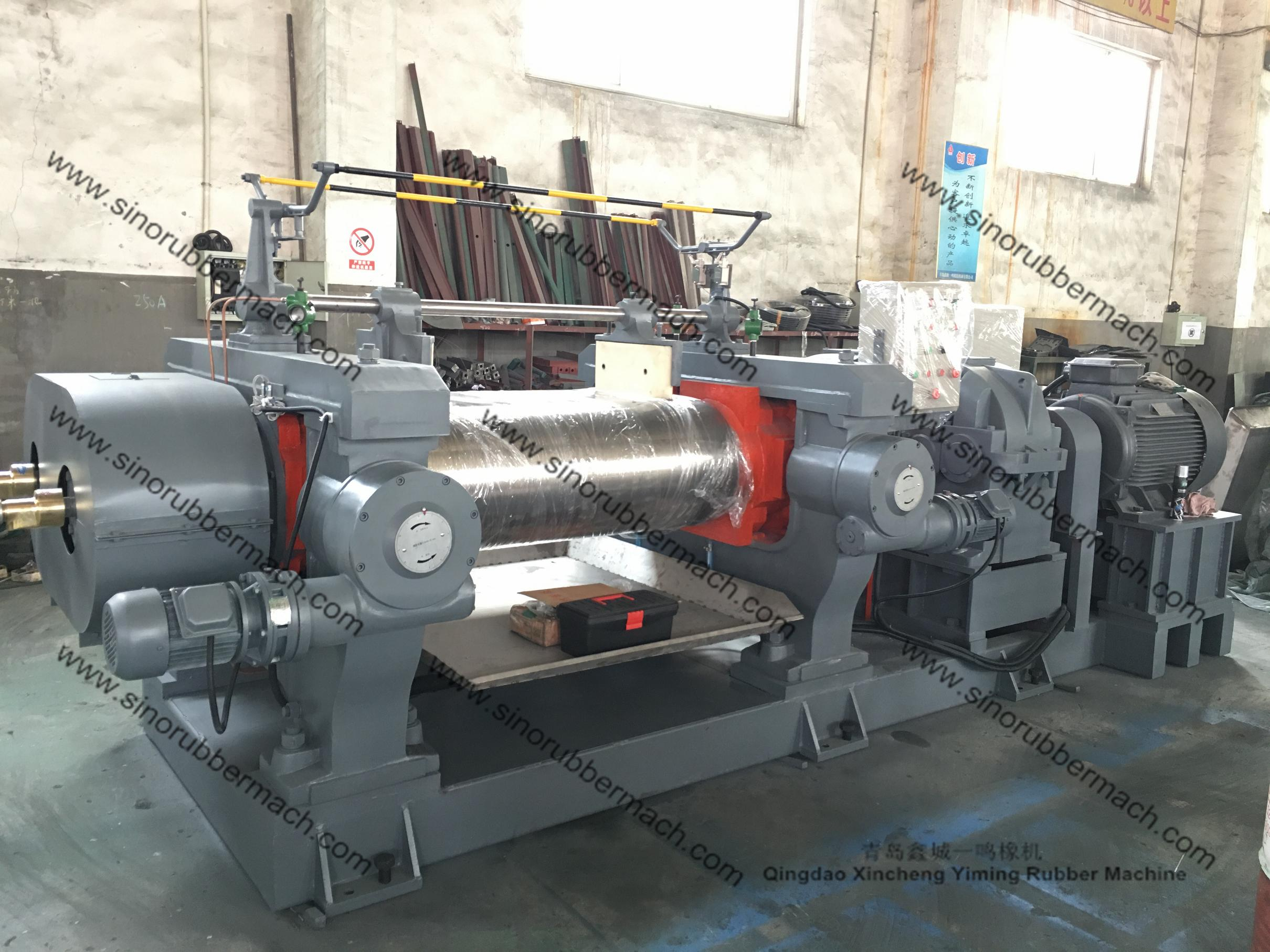 18 INCH Two Roll Open Mixing Mill Machine