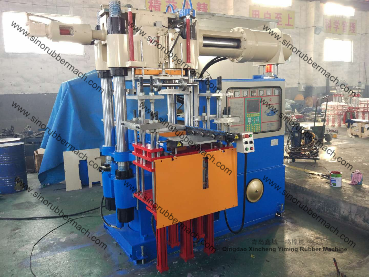 RH300TON-FTMO-4RT Rubber Injection Molding Machine