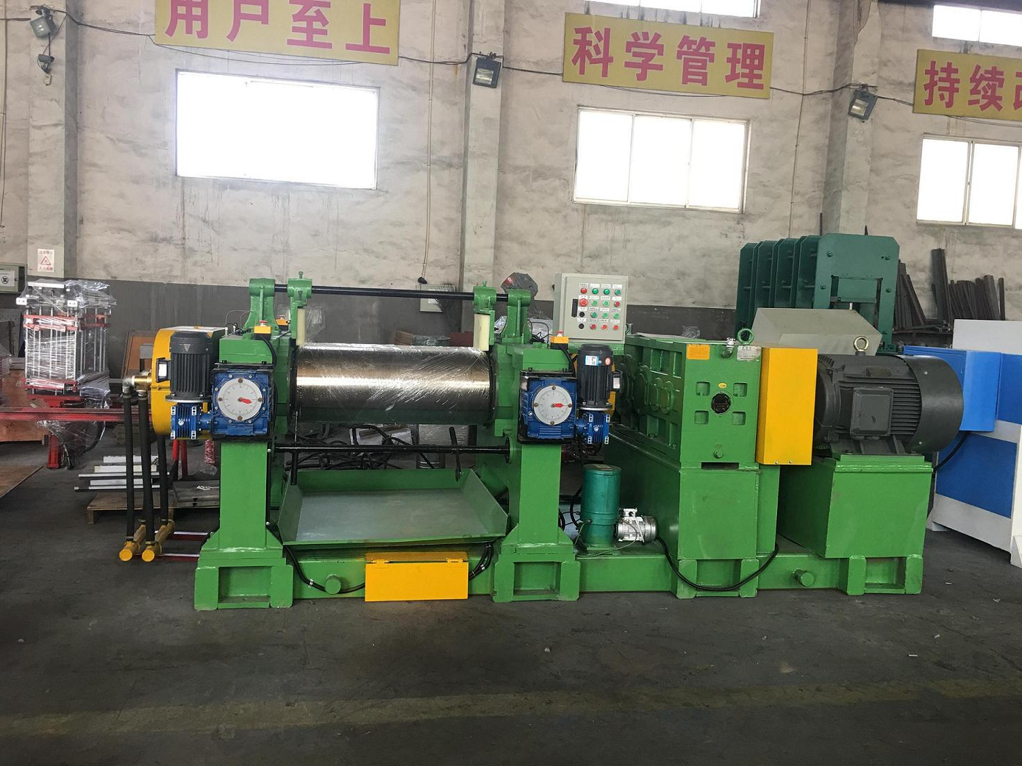 16-Inch Two Roll Rubber Mixing Mill Machine